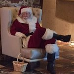 I enjoy the fact that this Hilton had a Santa