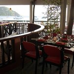 Upstairs @ Quito's offers beach chic fine dining!