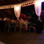 Wedding at the Beach bar