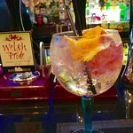Perfect beverage: delicious Premium Gins, garnished perfectly with apt' fresh fruit to complimen