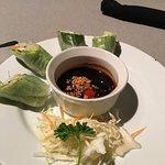 Tofu Salad Rolls (2 eaten already :)