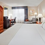 Unwind in our spacious king bedded rooms.