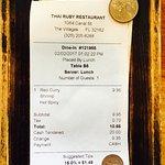 ภาพถ่ายของ Thai Ruby Restaurant