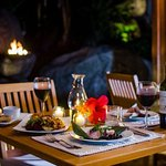 Fine Dining at The Courtyard at Surfsong, BVI
