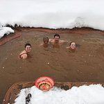 amazing hot springs (with optional mud mask)