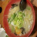 Yakiniku, Curry au poulet pané, ramen végétarien