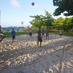 volleyball on Lime