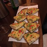 Garlic Bread with Chillis