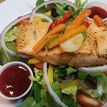 House Salad Salmon