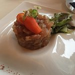 tuna tartare i think, very good