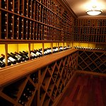 Seriously impressive wine cellar