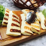 traditional Miročki cheese grilled..