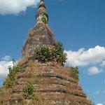 "Stumpled upon this ""Black"" Stupa. Saw no Naga serpents, though."