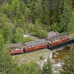 Georgetown Loop Railroad looks like a model train set