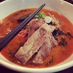 Spicy Ramen with Pork Rib.