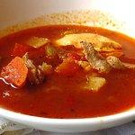 Mediterranean fish soup was delicious!