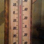 Temperatura al interior de la recepcion