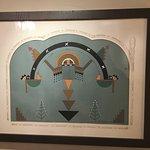 Original artwork by artist of the Santa Fe Indian School