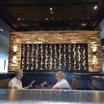 Selective wine wall just one of them...