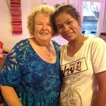 my friend Kay and Aay the owner and cook