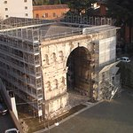 Roman history in Forum area.