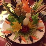 Belle décoration des menus