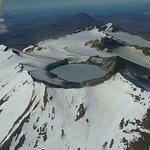 Tongariro Nat. Park from above