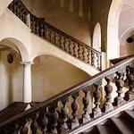 Scalone monumentale per accesso al primo piano