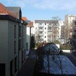 Blick in Hinterhof