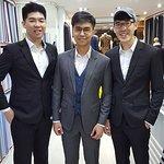 Groom and the Groomsmen in Jhasper Suits