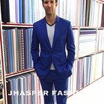 Slim Fit Electric Blue Suit