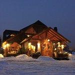 Vista nocturna en invierno