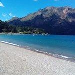 Playa sobre Lago Gutierrez