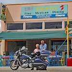 Awesome mexican food to look forward to in Thermopolis Wyoming after a long day of riding.