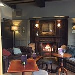 Cosy lounge bar at the Crown, Broxbourne