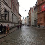 RIGA BOURSE - right building - view from east