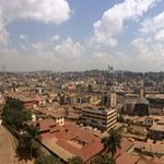 Panorama of the city from the tower!