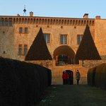 Le château vu des jardins