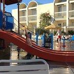 Nephew on the Water Slide