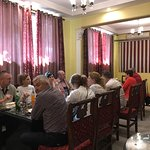 The Romanian group enjoying lunch @The Silk Route Restaurant