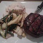 Steak & mashed potatoes