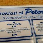 waffle - $6.99