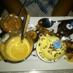 Dessert café gourmand Spécial anniversaire !! Merci Mélissa
