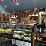 Danish Mill sandwich and bakery counter