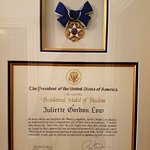 Medal of Freedom with President Obama signature