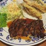 Beef Teriyaki / Tempura Combo #1.