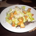 Half a caesar salad