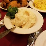 The mashed potatoes are the absolute best!