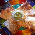 Quesadilla for lunch