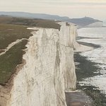 Seven Sisters Ciffs - just down the coast.